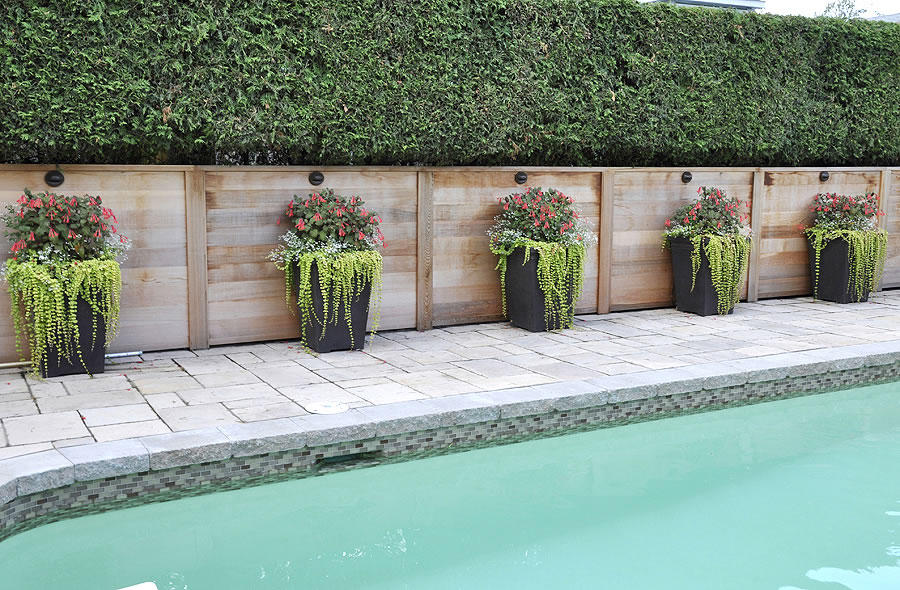 Les embellissements paysagers laval inc piscine - Amenagement piscine design saint etienne ...